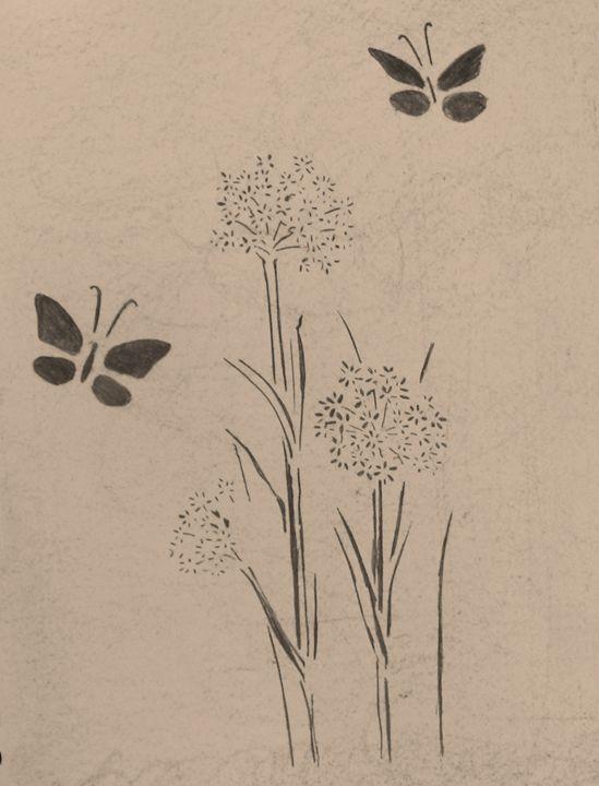 Flowers & Butterflies - Rachel's Photos & Drawings