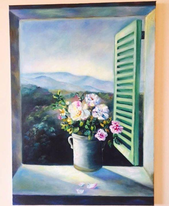 On the edge - Maria's art