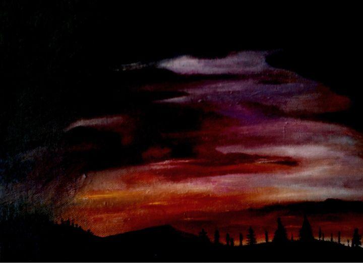 montana sunset - Darcy Schuetz