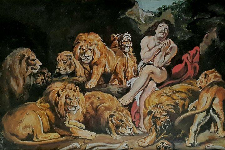 Daniel in the lions' den - Ramesh