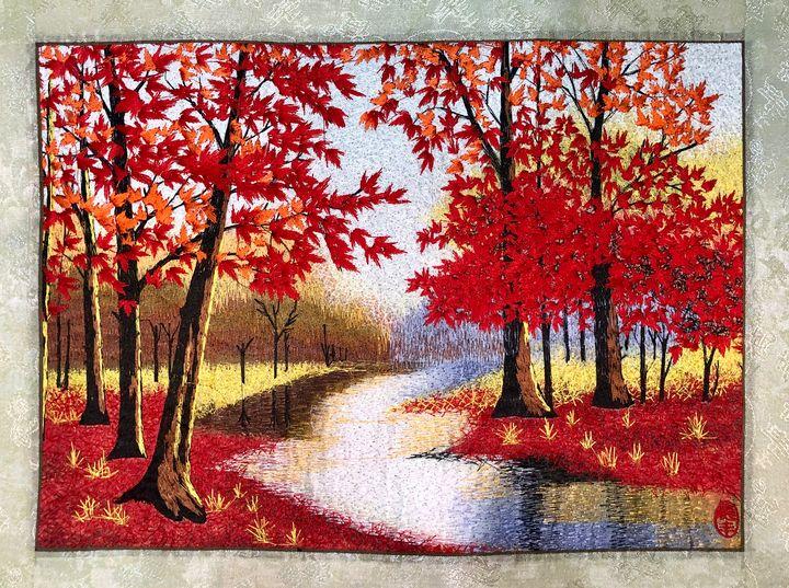 Autumn Lake - Ouyang Painting