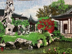 Beautiful Chinese Garden - Ouyang Painting