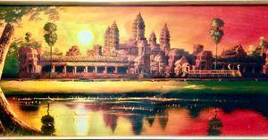 Sunset at Angkorwat