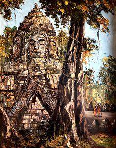 Angkorwat Bayon Temple