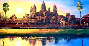 Angkorwat Scenery