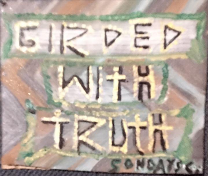 Girded With Truth - Sondayscoo