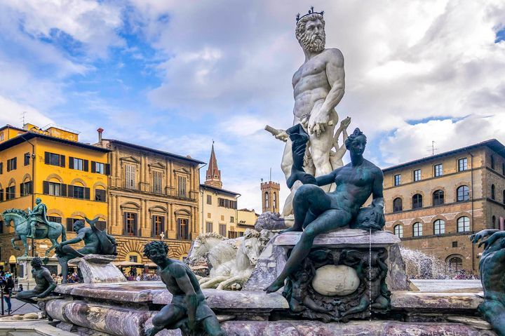 Neptune's Fountain ~ Florence - Photography by Lourdestm