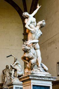 Piazza della Signoria Sculptures
