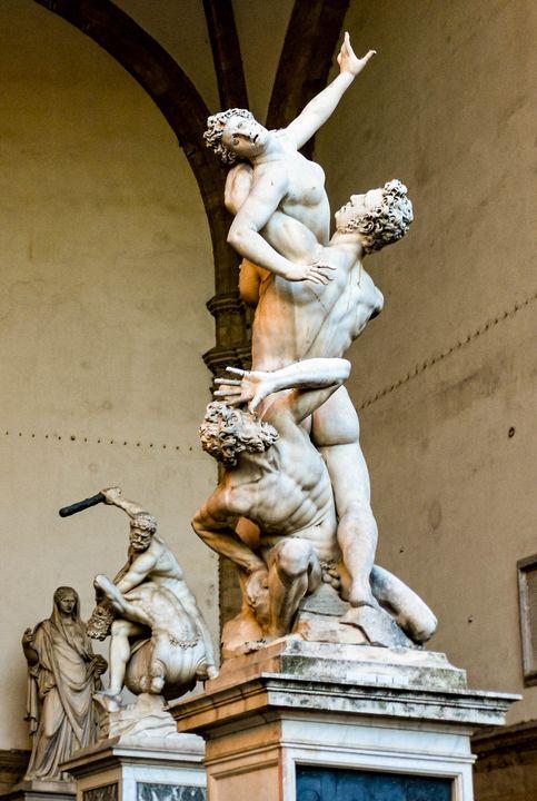 Piazza della Signoria Sculptures - Photography by Lourdestm