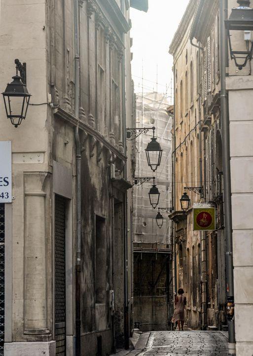 Narrow Street ~ Arles - Photography by Lourdestm
