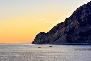 Sunset in Monterosso al Mare