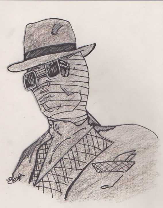 I'm the invisible man - EccentArt