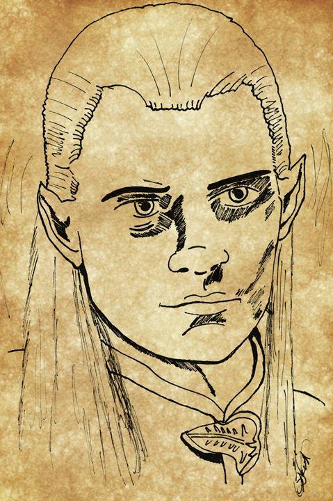 Legolas - EccentArt