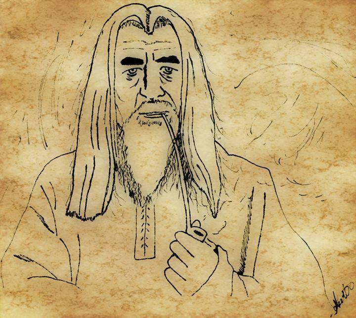 Gandalf the white - EccentArt