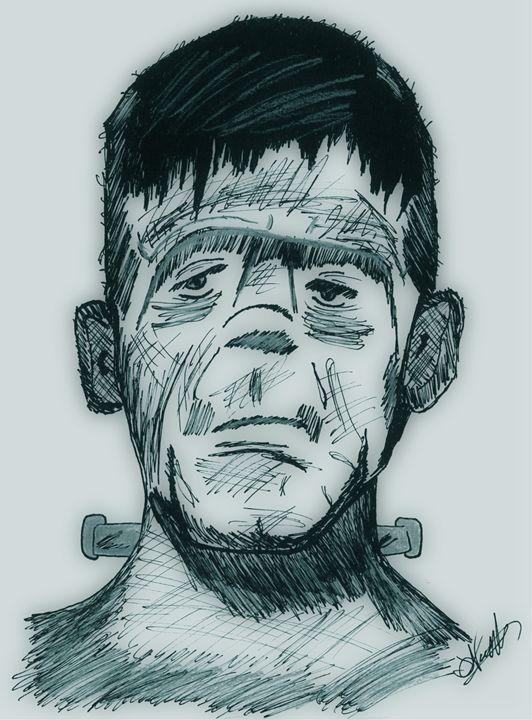 Frankenstein's Monster - EccentArt