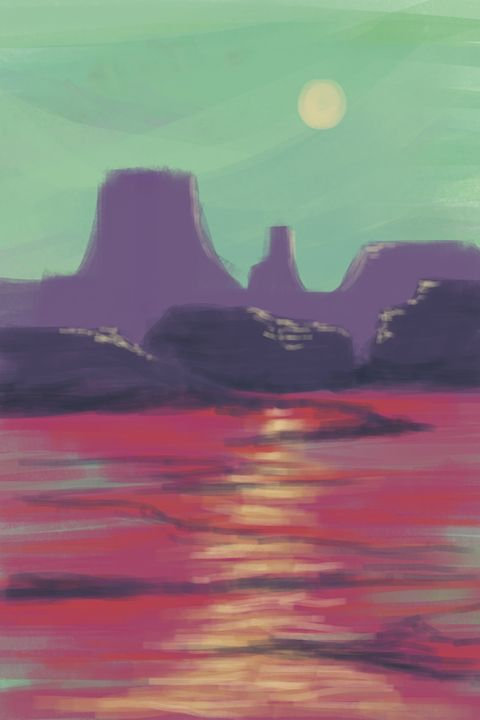 Canyon - JD Burris Art