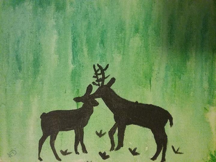 The Love of an animal - Dallies Art Designs