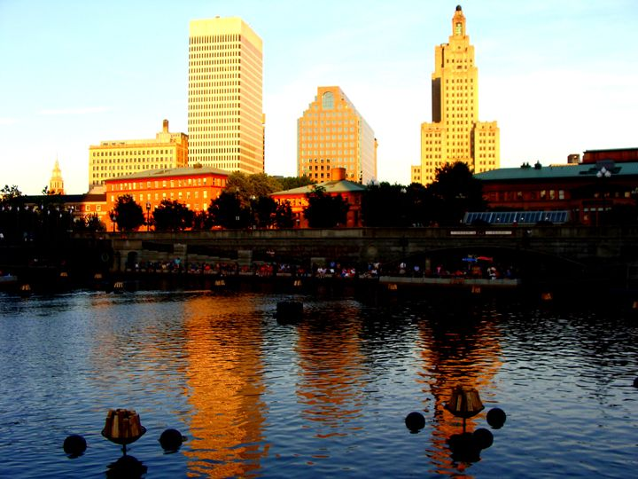 Beauty of Providence River - Priyanka