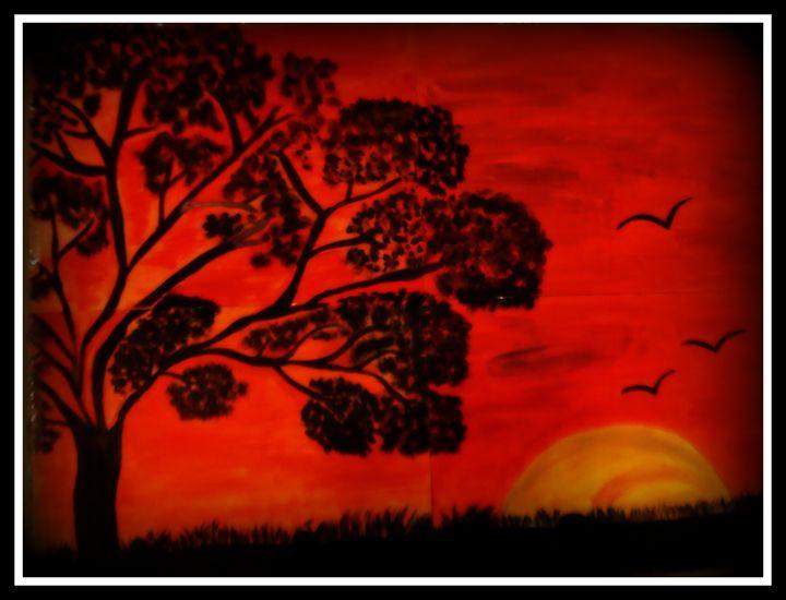Sunset Art - Priyanka