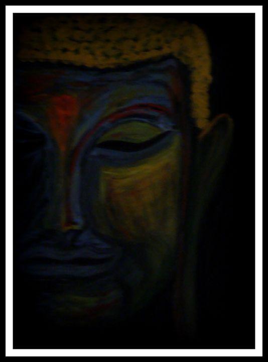 Modern Meditation Art - Priyanka