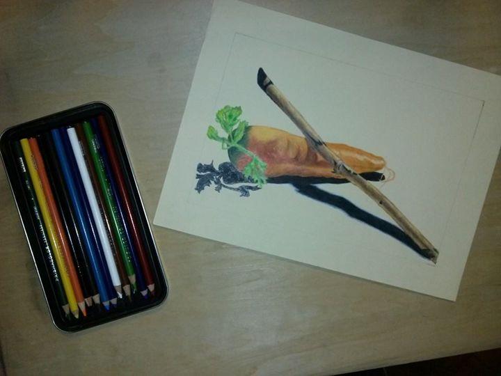 prisma_carrot - my art