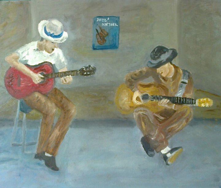 Musiciens de Klezmer - MichelePeinture