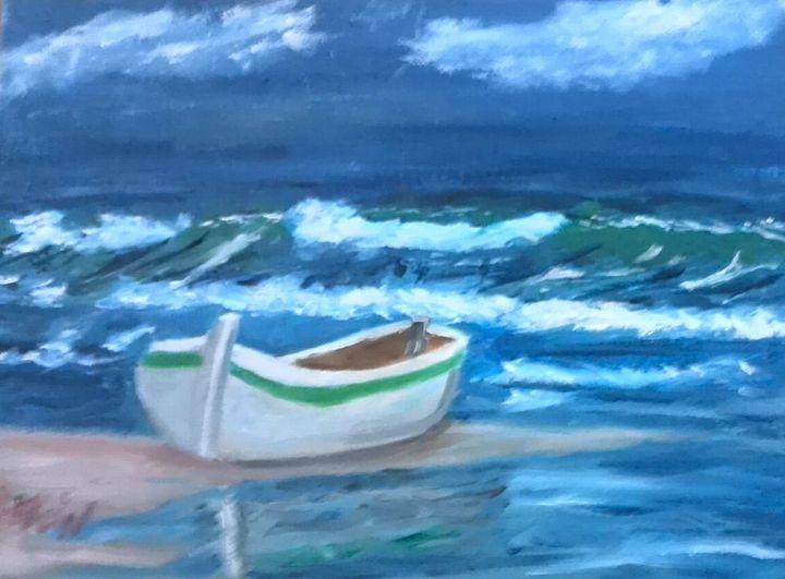 La Barque ! - MichelePeinture