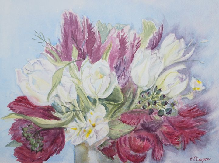 Spring Bouquet - Erin Hollon Fine Art and Illustration