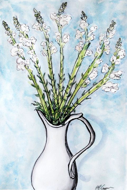 Dutch Petals - Erin Hollon Fine Art and Illustration