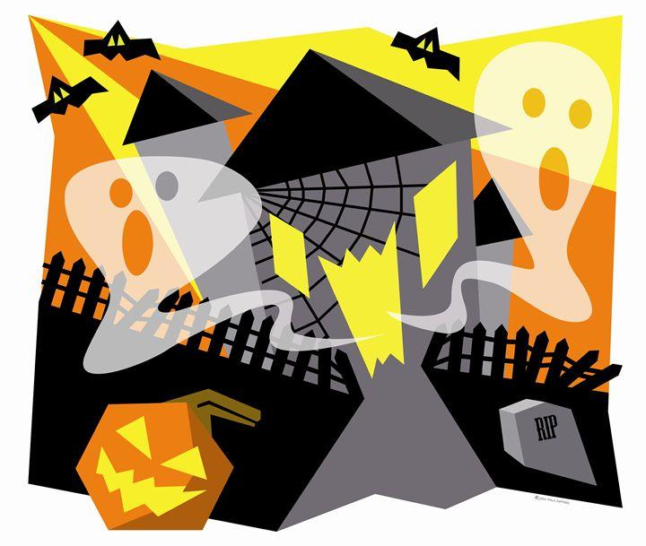 Spookhouse - John Paul DeHaas Art In Action