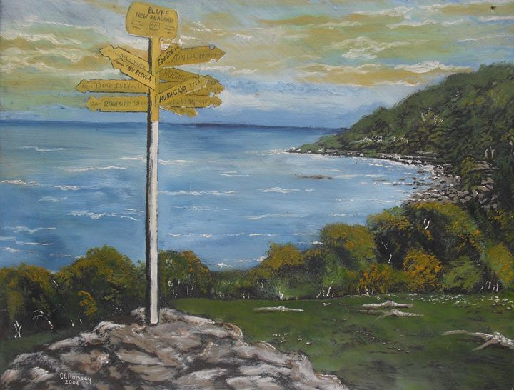 Bluff Lookout Point - Craig Ramsay