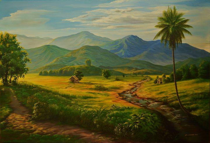 Golden Morning Jm Lisondra Paintings Amp Prints Landscapes Amp Nature Panoramas Artpal