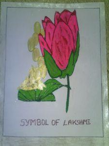 symbol of lakshmi