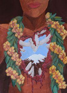Mauna Kea - Hawaiian Mixed Media
