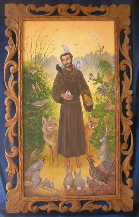 Saint Francis in the Desert - GreenGallery