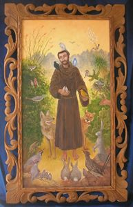 Saint Francis in the Desert