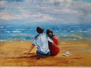 Spanish seaside memories