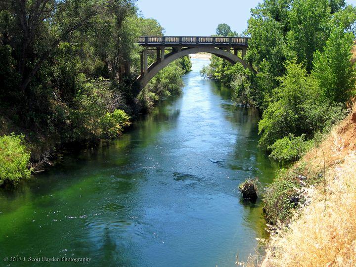 Tuolumne River Bridge - J. Scott Hayden