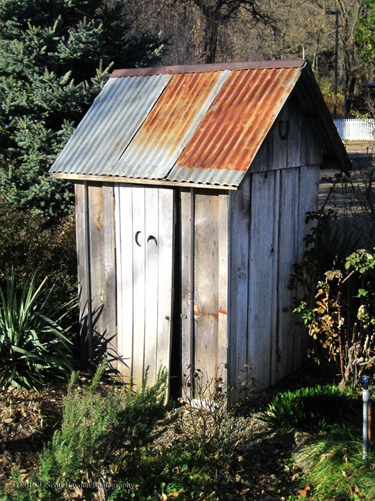 Old Outhouse - J. Scott Hayden