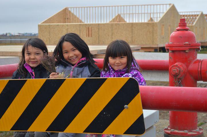Barrow Alaska Girls - J. Scott Hayden