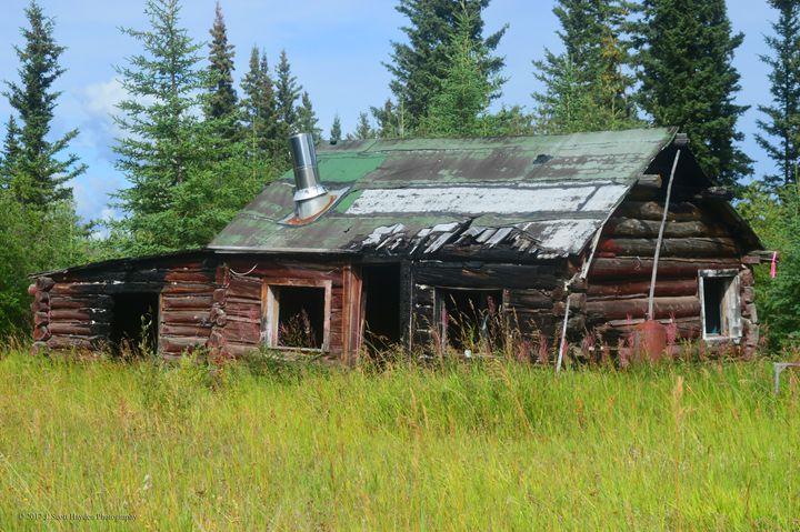 Burned Out Cabin Edgerton Hwy - J. Scott Hayden