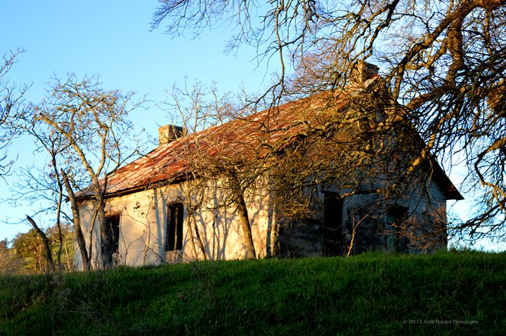 Old House Calaveras I - J. Scott Hayden
