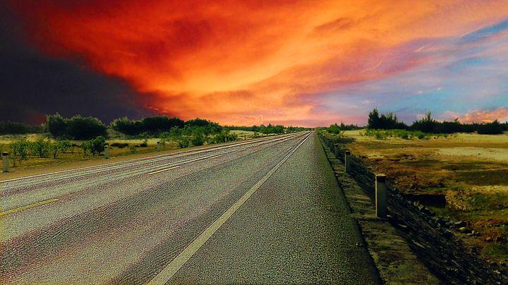 sunset - pham Giang