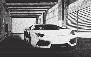 Lamborghini Aventador- Gpen Edit - EDG Art