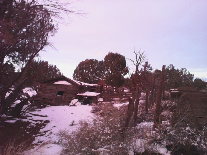 Winter Ranch Scene - My Evil Twin