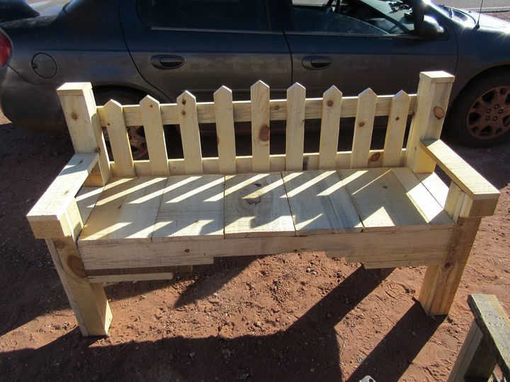 Southwestern Bench #3 - My Evil Twin