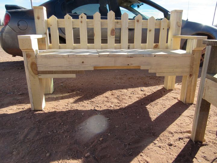 Southwestern Style Bench - My Evil Twin