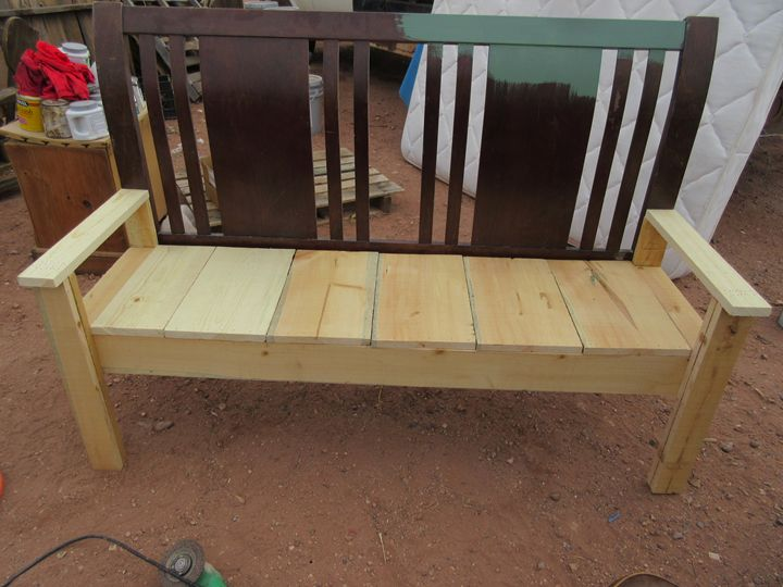 Unpainted Bench - My Evil Twin