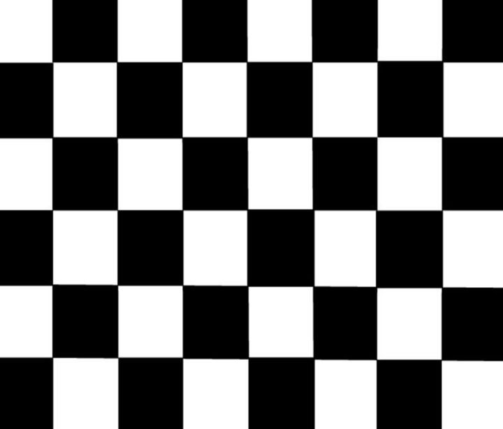 Black & White Checkered Flag - My Evil Twin