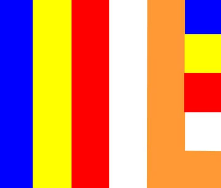 Buddhist Flag - My Evil Twin